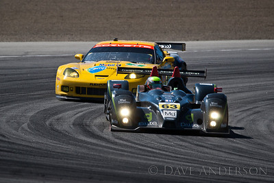 Car #63, Oreca FLM09(LMPC) (Lux*)/Julian/Guasch, 5th Overall(241 Laps), 1st in Class, Qualifying Time 1:19.423 @101.442mph, Best Race Lap 1:20.437, Total Time 6:01:53.946(7 Laps Behind Lead)  Car #3, Chevrolet Corvette ZR1(GT) (Beretta*)/Milner, 18th Overall(235 Laps), 7th in Class, Qualifying Time 1:23.566 @96.412mph, Best Race Lap 1:24.513, Total Time 6:02:36.858(13 Laps Behind Lead)