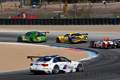 Car #89, Oreca FLM09(LMPC) (D.Ducote)/C.Ducote/Marcelli*, 7th Overall(239 Laps), 3rd in Class, Qualifying Time 1:18.844 @102.187mph, Best Race Lap 1:20.641, Total Time 6:01:49.607(9 Laps Behind Lead)  Car #56, BMW M3 GT(GT) Mueller/(Hand*), 12th Overall(236 Laps), 2nd in Class, Qualifying Time 1:22.226 @97.984mph, Best Race Lap 1:23.703, Total Time 6:02:03.991(12 Laps Behind Lead)  Car #4, Chevrolet Corvette ZR1(GT) (Gavin*)/Magnussen, 15th Overall(236 Laps), 5th in Class, Qualifying Time 1:23.124 @96.925mph, Best Race Lap 1:24.069, Total Time 6:02:16.328(12 Laps Behind Lead)  Car #34, Porsche 911 GT3 Cup(GTC) LeSaffre/(Faulkner*), 25th Overall(221 Laps), 3rd in Class, Qualifying Time 1:28.152 @91.397mph, Best Race Lap 1:29.152, Total Time 6:01:09.581(27 Laps Behind Lead)