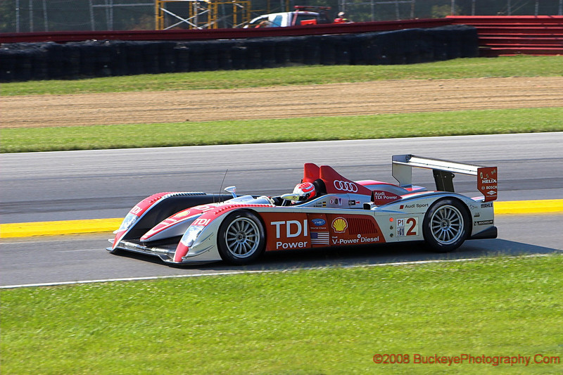 First Place - P1 Audi R10 TDI - Luhr-Werner