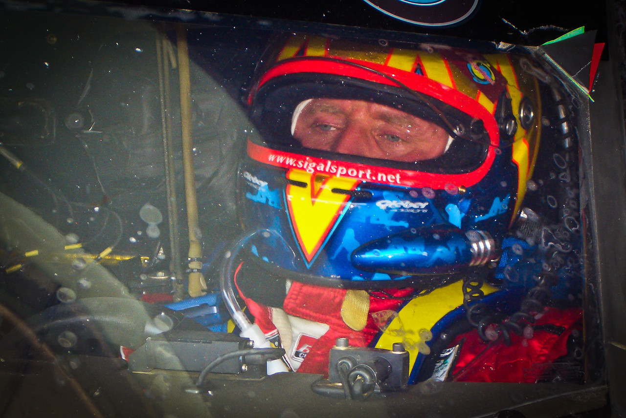 Driver Gene Sigal. Rum-Bum BMW Riley