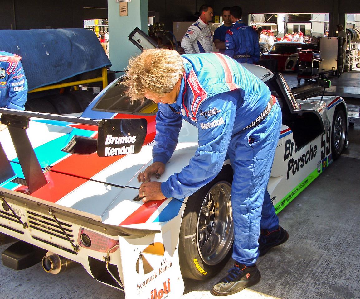 Don Leatherwood of Brumos Motorsports