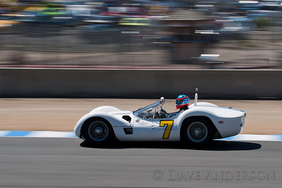 Car #7, 1960 Maserati Tipo 61(2890cc), Jonathan Feiber(Menlo Park, CA), 3rd Place, Best Race Lap: 01:49.539 (Race Group 3A, 1955-1961 Sports Racing Cars over 2000cc)