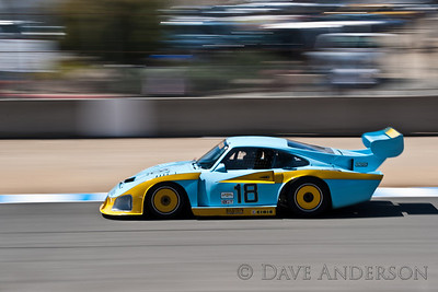 Car #18, 1981 Porsche 935(3200cc), Eric Edenholm(Scottsdale, AZ), 13th Place, Best Race Lap: 01:38.968 (Race Group 2A, 1973-1982 IMSA GT, GTX, AAGT Cars)