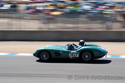 Car #102, 1957 Aston Martin DBR2(3700cc), Gregory Whitten(Medina, WA), 17th Place, Best Race Lap: 02:07.341 (Race Group 3A, 1955-1961 Sports Racing Cars over 2000cc)