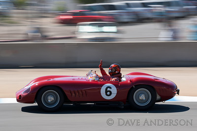 Car #6, 1957 Maserati 300S(2922cc), Jon Shirley(Medina, WA), 13th Place, Best Race Lap: 01:57.762 (Race Group 3A, 1955-1961 Sports Racing Cars over 2000cc)