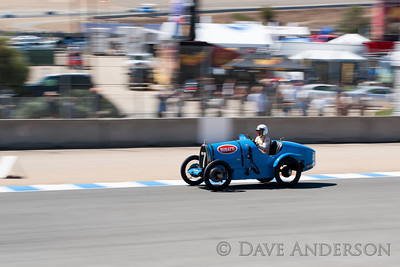 Car #7, 1924 Bugatti Type 13(1500cc), Goy Feltes(L-5380Uebersyren,), 29th Place, Best Race Lap: 02:44.214 (Race Group 4A, Bugatti Grand Prix)