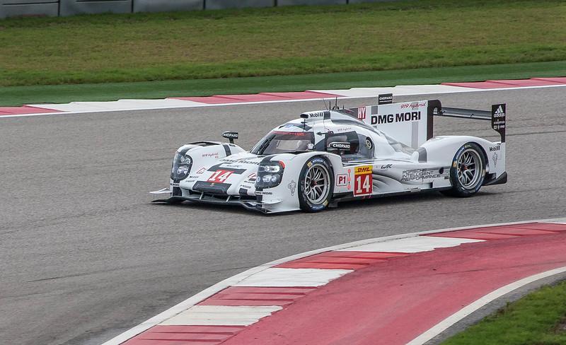 Porsche 919 Hybrid LMP1 entry of Dumas/Jani/Lieb