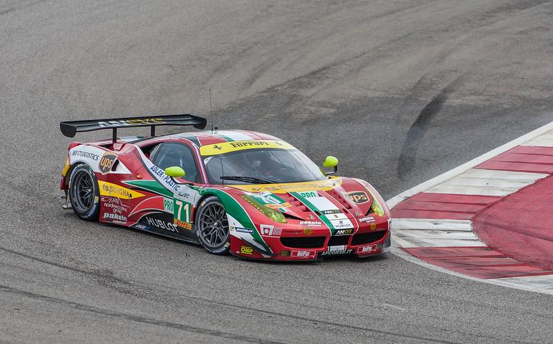WEC Ferrari 458 Italia LMGTEPro, Friday practice