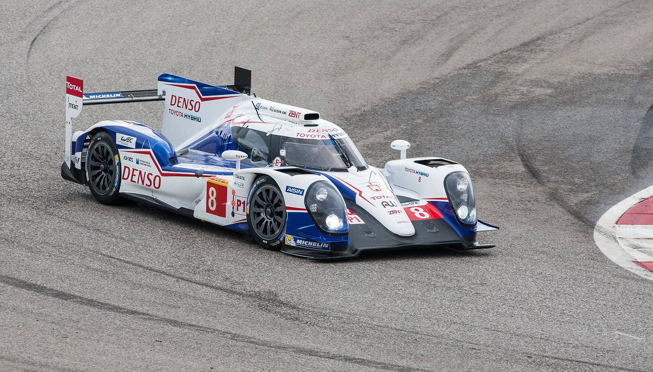 3rd place Toyota TS040-Hybrid of Davidson/Lapierre/Buemi, Friday practice