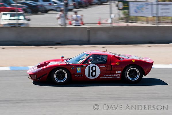 Car #118, 1966 Ford GT 40(4737cc), 18-Nick Colonna(Palos Verdes Estates, CA), 17th Place, Best Race Lap: 01:46.368 (Race Group 5A, 1964-1969 FIA Mfg. Championship Cars)