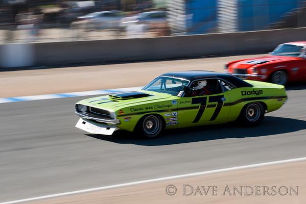 Car #77, 1970 Dodge Challenger(5000cc), Ken Epsman(Saratoga, CA), 3rd Place, Best Race Lap: 01:45.587 (Race Group 7A, 1966-1972 Trans Am)