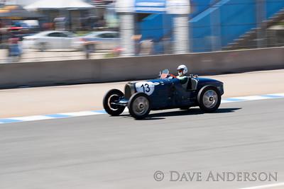 Car #13, 1925 Bugatti Type 35/51(2300cc), Patrick Friedli(Beaune, FRANCE), 12th Place, Best Race Lap: 02:13.693 (Race Group 4A, Bugatti Grand Prix)