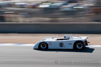 Car #181, 1974 Landar R8(1998cc), John Feuerstein(Lafayette, CA), 21st Place, Best Race Lap: 01:38.619 (Race Group 8A, 1971-1976 FIA Mfg. Championship Cars)