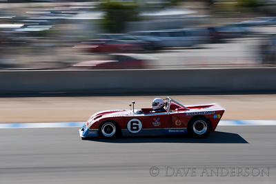 Car #6, 1973 Chevron B23(2000cc), Dwight Matheson(Meadow Vista, CA), 8th Place, Best Race Lap: 01:32.442 (Race Group 8A, 1971-1976 FIA Mfg. Championship Cars)