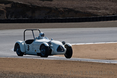 Car #3, John Buddenbaum(Sunnyvale, CA), 1949 Jaguar Special(3800cc), 2nd Place, Best Race Lap: 01:52.726 (Race Group 5B, 1947-1955 Sports Racing and GT Cars)