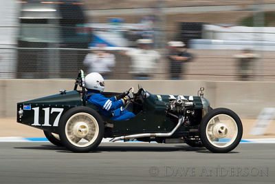 Car #117, Dick Jeffery(Hillsborough, CA), 1937 Triumph 9 Monoposto(1267cc), 22nd Place (Race Group 1A, Pre 1940 Sports Racing and Touring Cars)