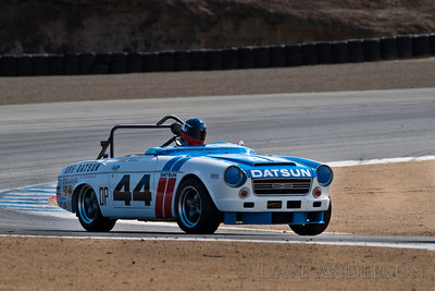 Car #44, Adam Carolla(Los Angeles, CA), 1968 Datsun 2000(2000cc), 7th Place, Best Race Lap: 01:50.205 (Race Group 7B, 1961-1966 GT Cars under 2500cc)  Car #177, Dennis Racine(Alamo, CA), 1966 Morris Mini Cooper S(1275cc), 40th Place, Best Race Lap:  (Race Group 7B, 1961-1966 GT Cars under 2500cc)