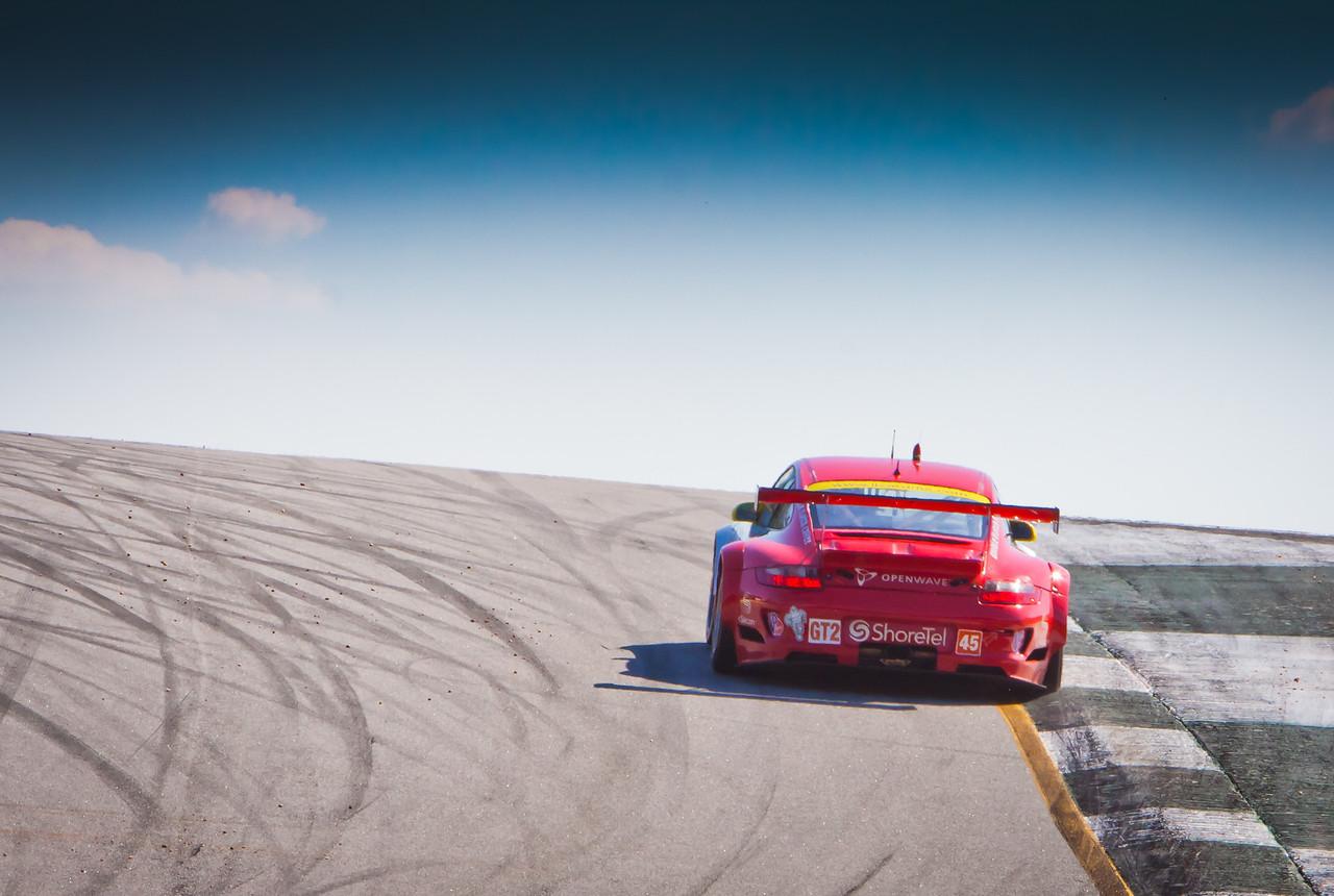 Flying Lizards Porsche GT3 RSR