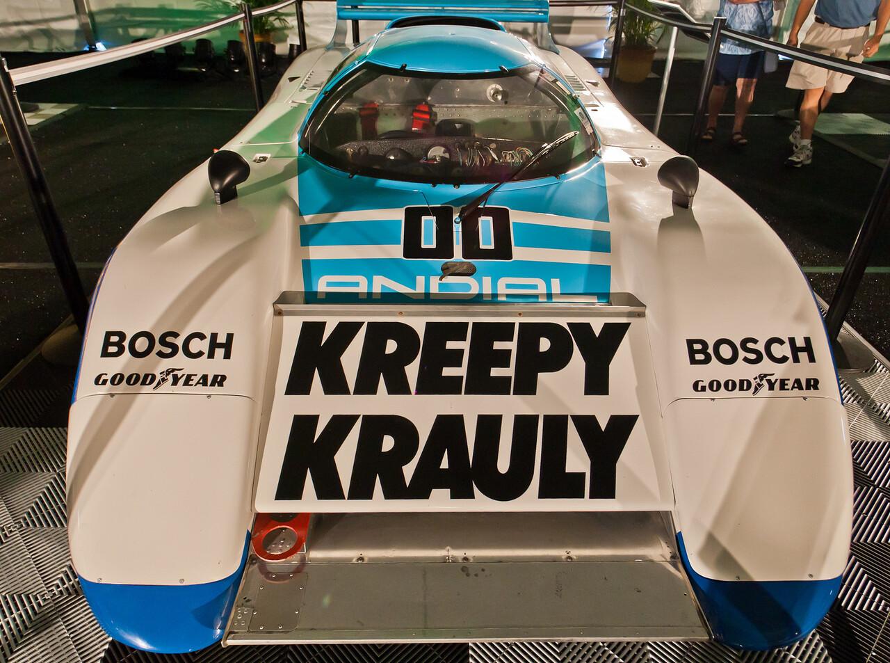 1984 Porsche-March Kreepy Krauly -- Duxbury/Martin/van der Merwe