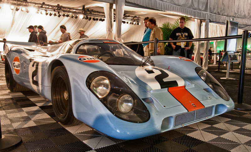 1970/1971 Rolex 24hr winning Gulf- Porsche 917 -- Rodriguez/Kinnunen/Redmond