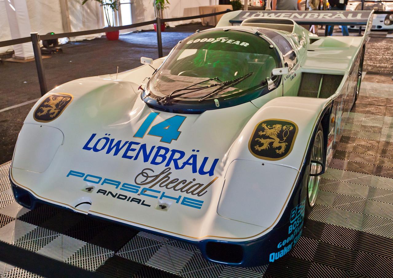 1986 and 1987 winning Porsche 962 -- Bell/Holbert/Robinson/Unser jr.