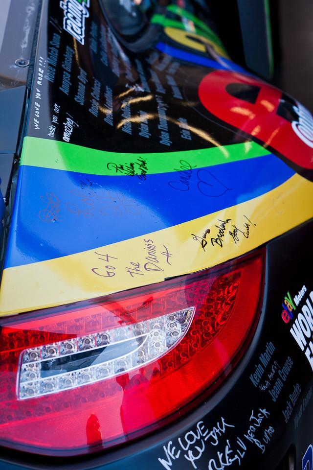 Magnus Racing Porsche GT3 -- Children's Tumor Foundation