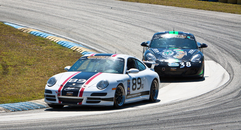 Porsche Deul in Continental Series