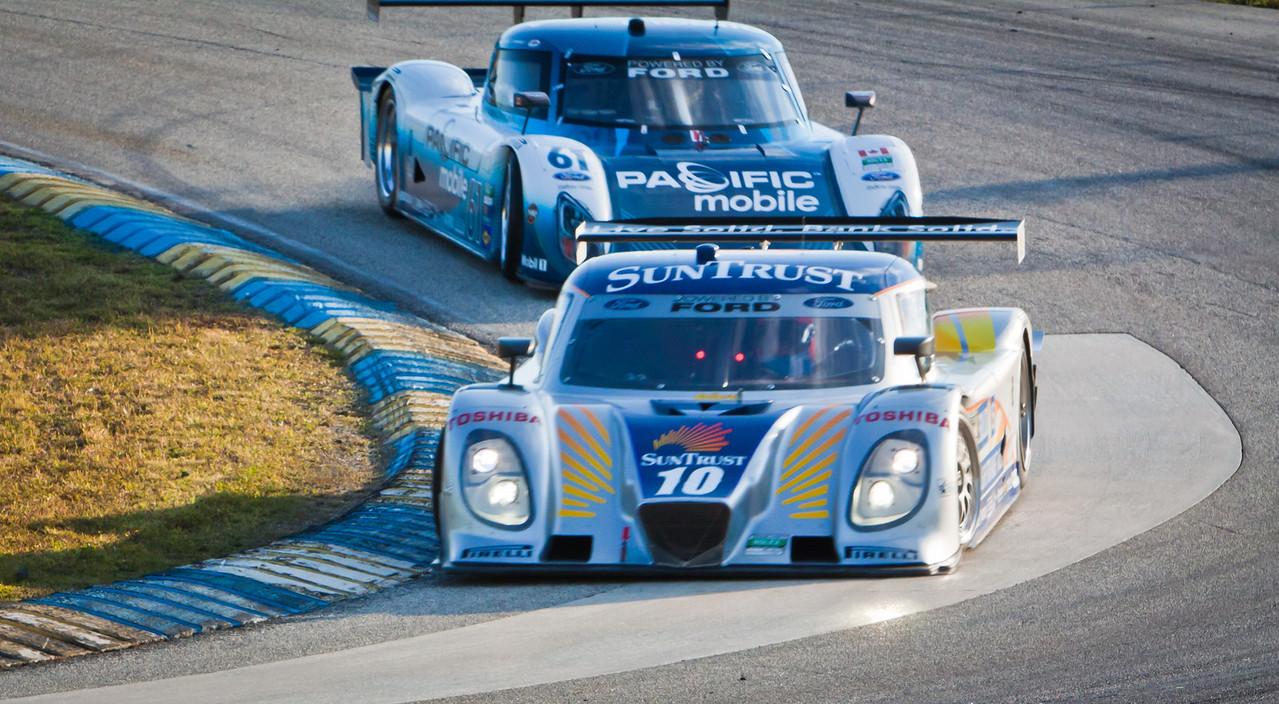 SunTrust Ford Dallara lead Taylor Ford Reilly