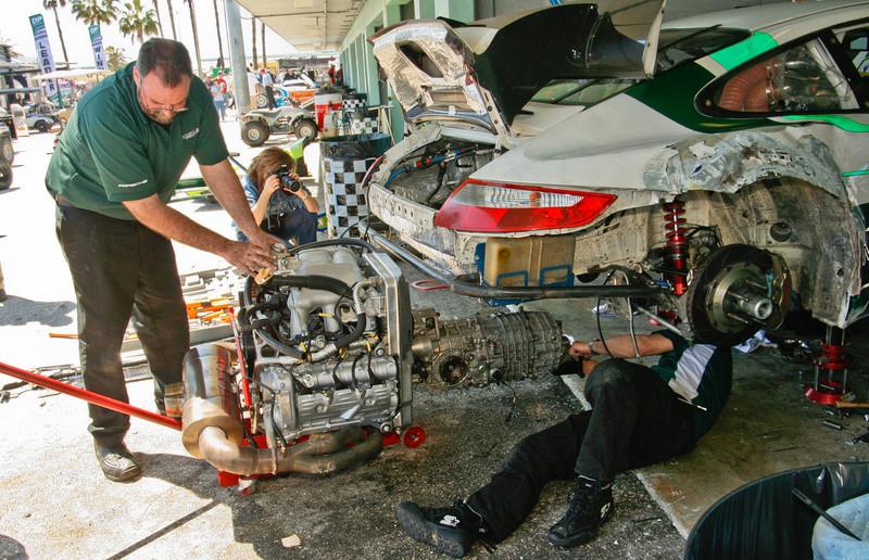 Magnus Porsche Rebuild -- New Motor