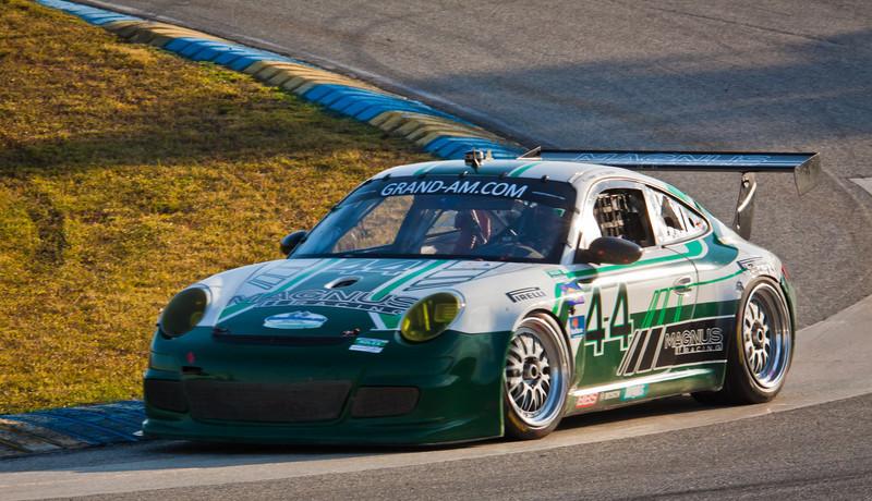 Magnus Porsche on track