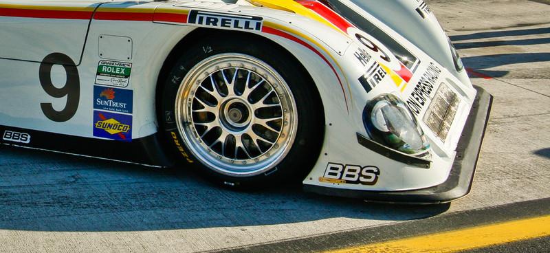 Action Express Motorsports Porsche Reily V8 on Grid