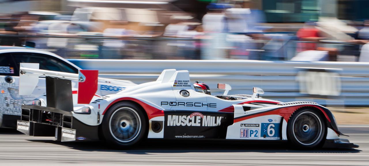 Muscle Milk Cytosport Porsche RS Spyder
