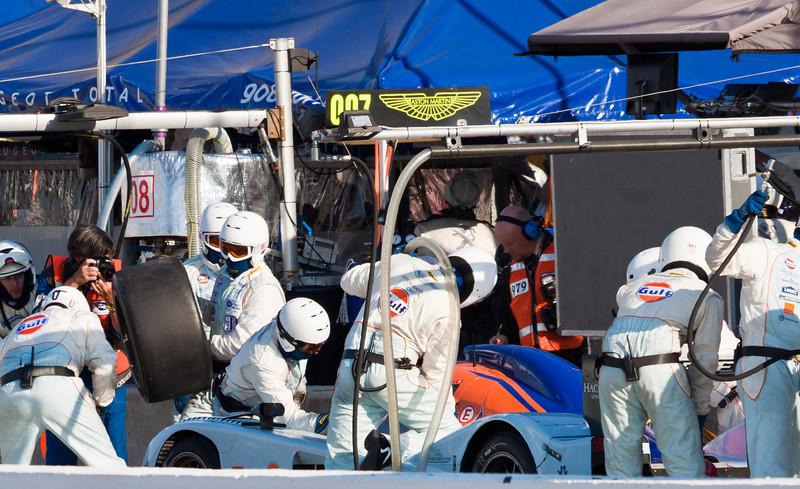 Gulf Aston Martin Pit Stop 007 car