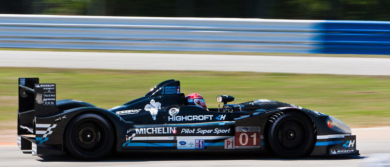 Pagenaud in Highcroft Racing Honda ARX-01e in Collier Curve