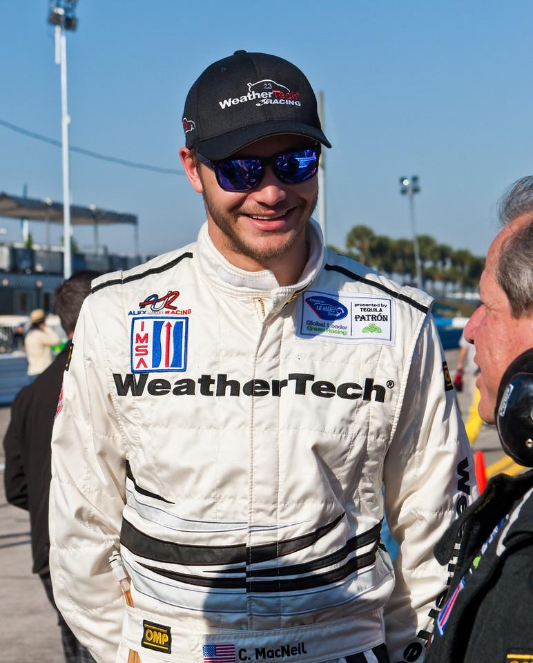 WeatherTech driver Cooper MacNeil