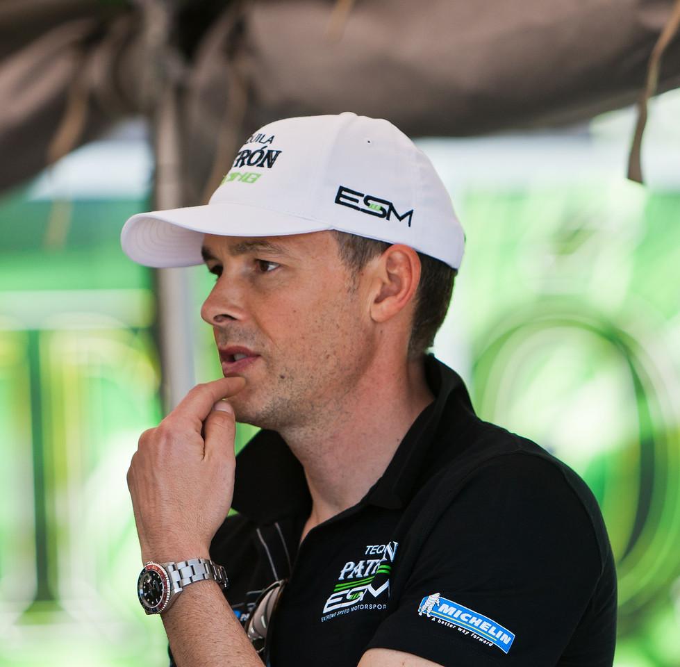 Extreme Speed Motorsports Driver Johannes van Overbeek
