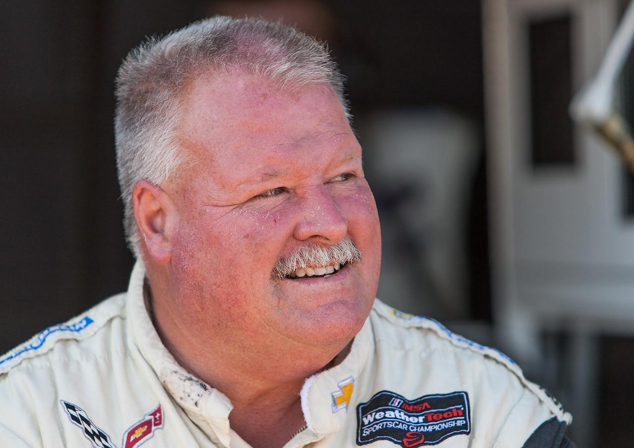 Corvette Racing Team Crew Chief Dan Binks
