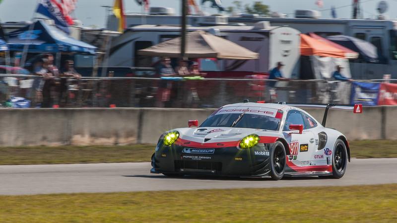 Core Autosports Porsche 911 RSR GTLM