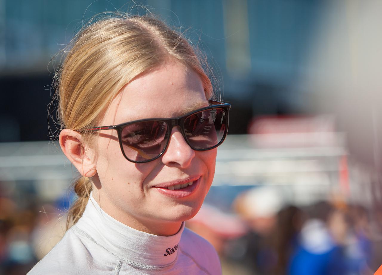Scuderia Corsa Ferrari team driver Christina Nielsen