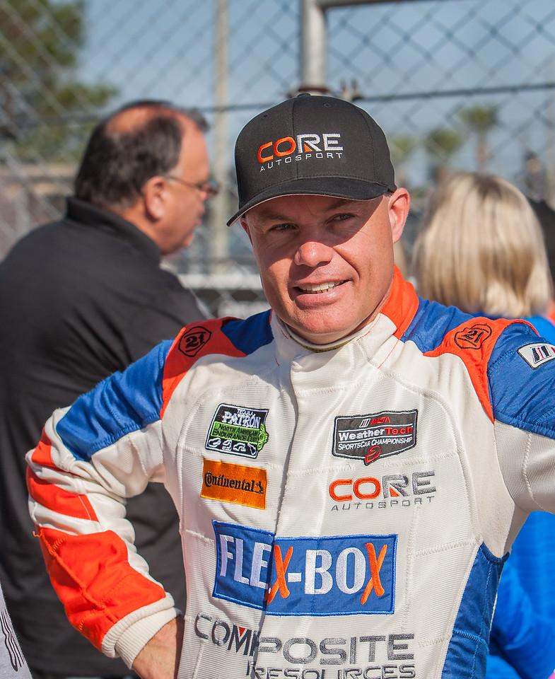 Nic Jonsson, Core Autosport Porsche GT3R driver.