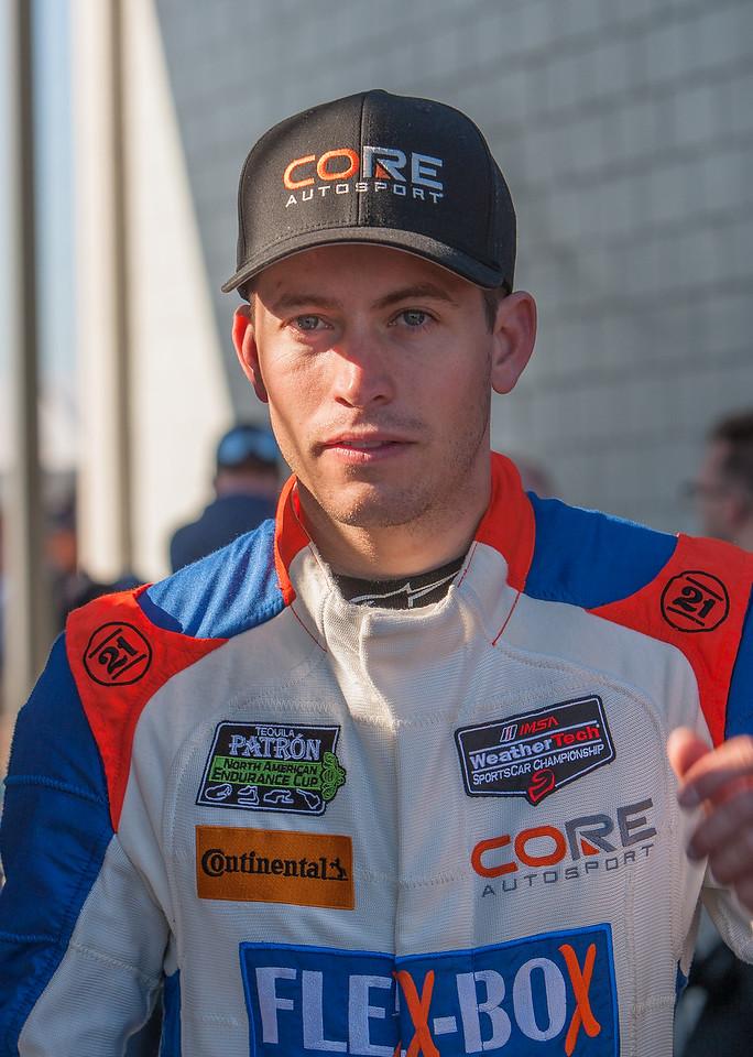 Colin Braun of Core Autosports