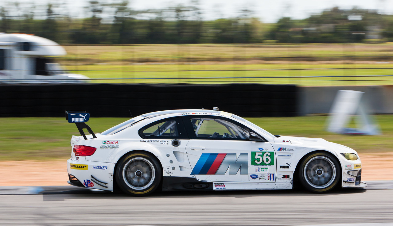 BMW Motorsports ALMS GT BMW E92 M3 GT winner