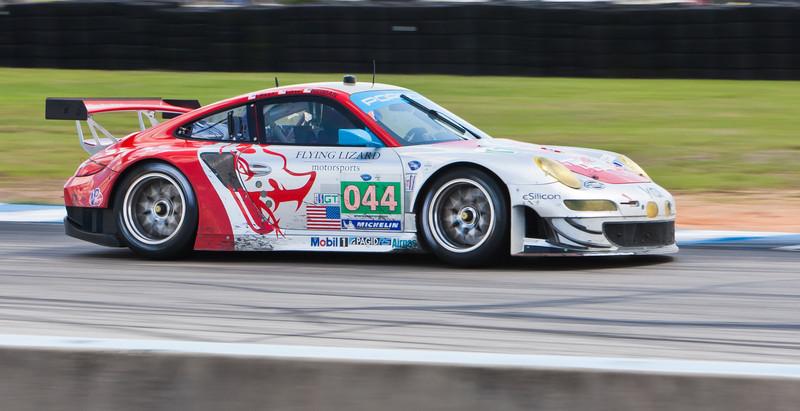 Flying Lizards Motorsports ALMS GT Porsche 997 GT3 RSR Law/Neiman/Lally