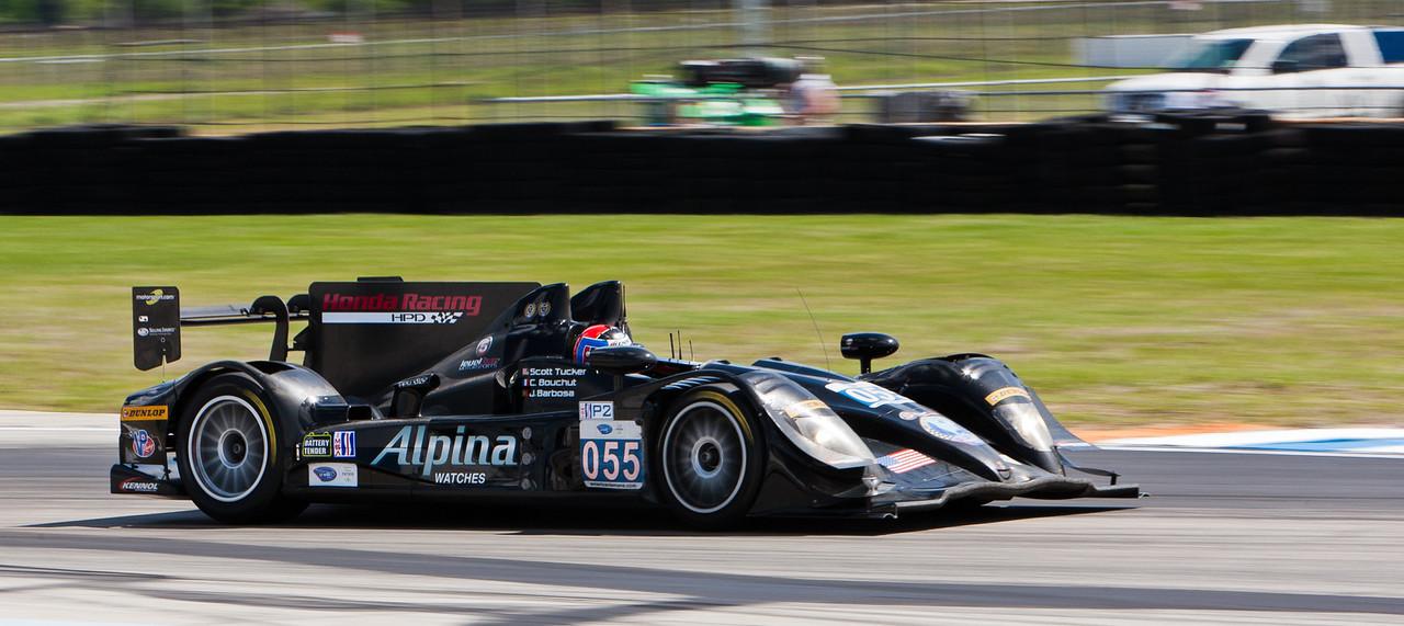 Level 5 Motorsports ALMS P2 Acura HPD-ARX-03b Tucker/Bouchut/Barbosa with Bouchut at wheel
