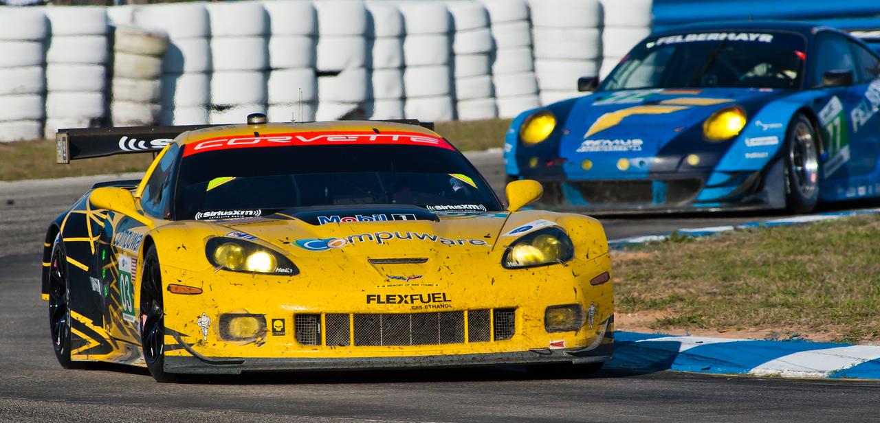 Corvette Racing #03 ALMS Corvette C6 ZR1 Magnussen/Garcia/Taylor -- 2nd place in GT