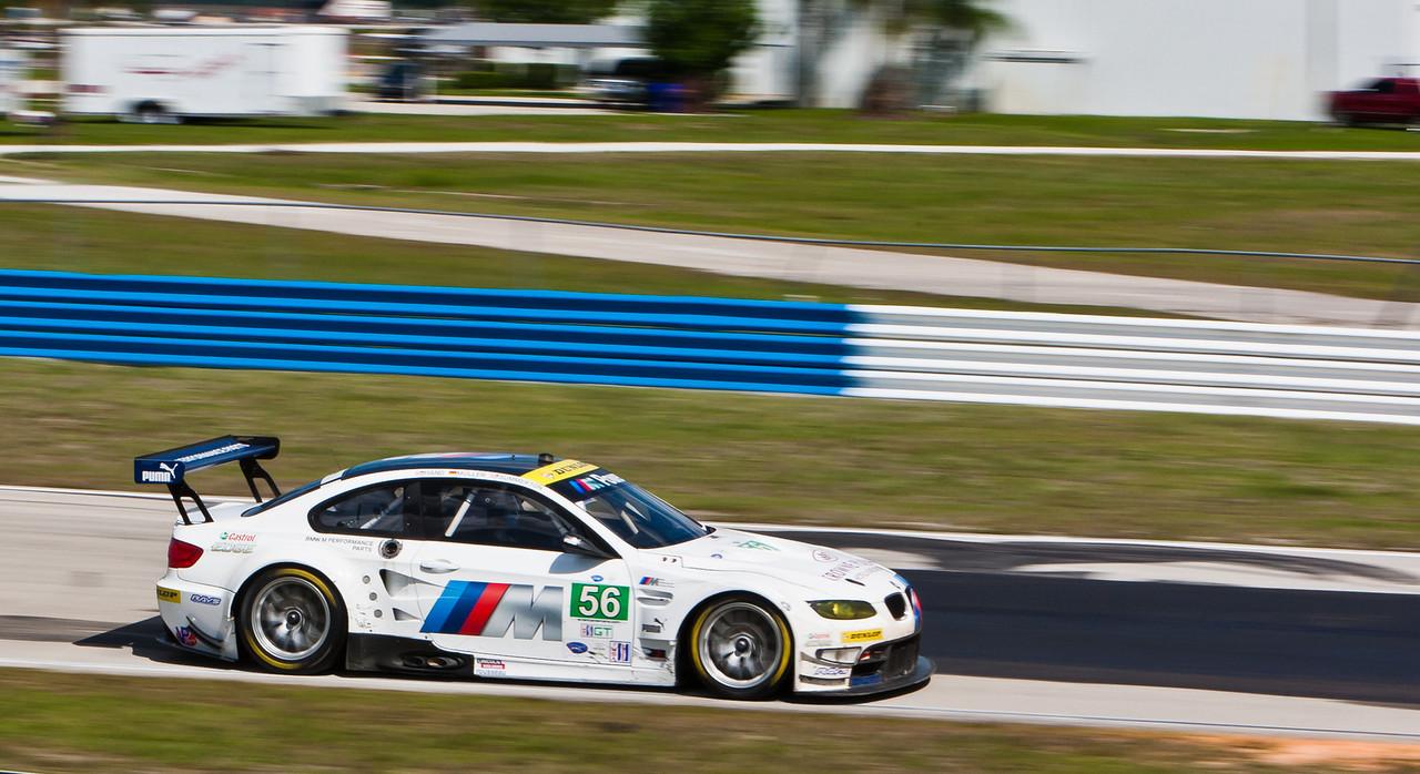 GT Class winner BMW Motorsports E92 M3 Hand/Muller/Summerton
