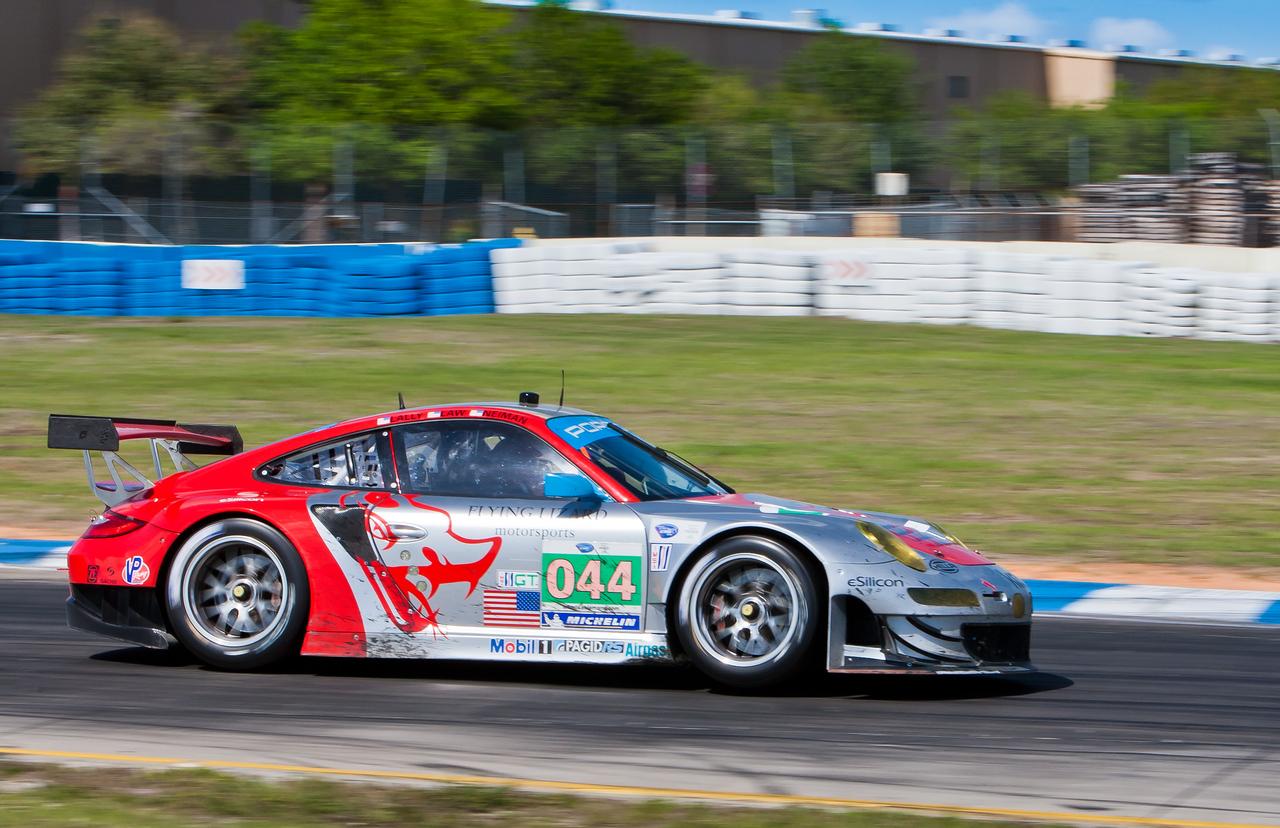 Flying Lizards ALMS GT Porsche 997 GT3 RSR Law/Neiman/Lally