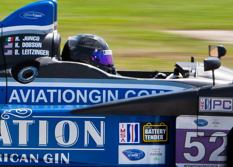 Butch Leitzinger in Mathiasen Motorsports ALMS PC Preca FLM09
