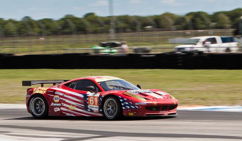 AT Corse WEC LMGTE Am Ferrari 458 Italia Kauffman/Aguas/Waltrip