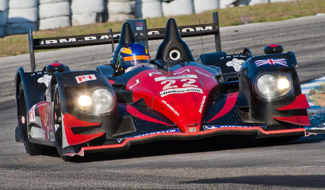David Brabham in JRM Racing WEC HPD ARX-03a